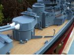 The detail on this Graupner ARTR model of HMS Hood is fantastic.